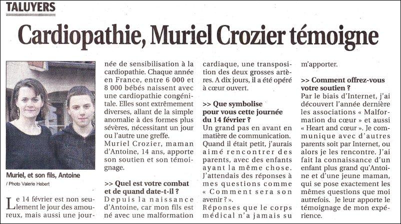 Muriel et Antoine CROISIER