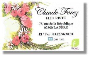 Fleurs Claude Ferez