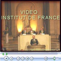 Cliquez sur l'image pour voir la video du discours du professeur Alain Carpentier
