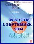 ESC  congress 28 august to 1 september  2004 - Munich -