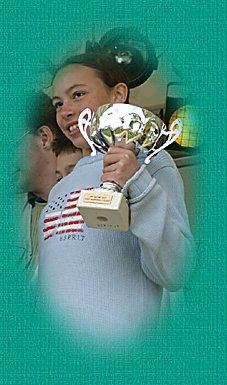 Remise de la coupe (mai 2004)