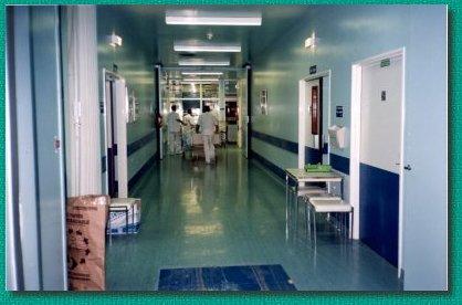 Gaelle part au bloc opératoire