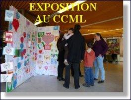 Cliquez sur l'image pour acceder aux photos de l'exposition de dessins au CCML