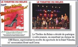 Cliquez sur l'image pour acceder aux photos de la soirée du 14 février par la troupe du Theatre du Relais