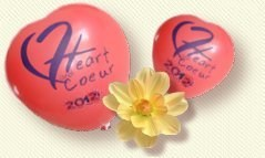 ballons Heart and Coeur