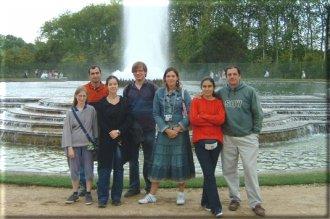 Avec les amis Argentins